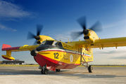 I-DPCQ - Italy - Protezione civile Canadair CL-415 (all marks) aircraft