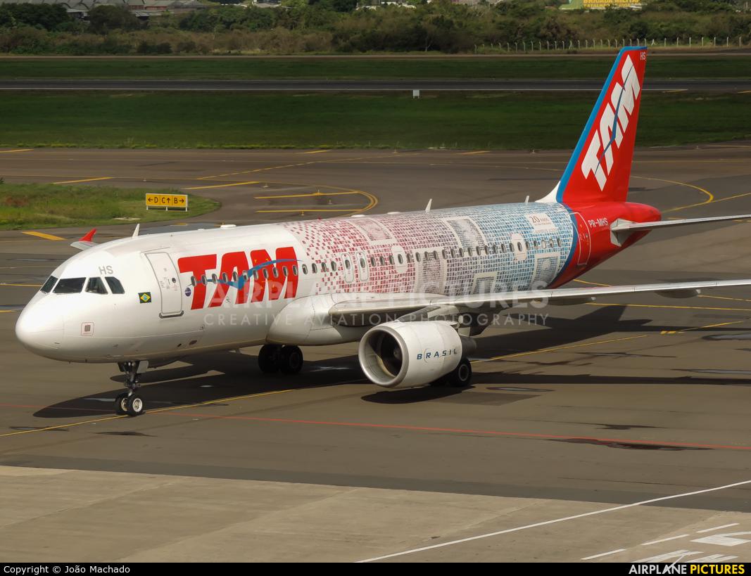 TAM PR-MHS aircraft at Porto Alegre - Salgado Filho