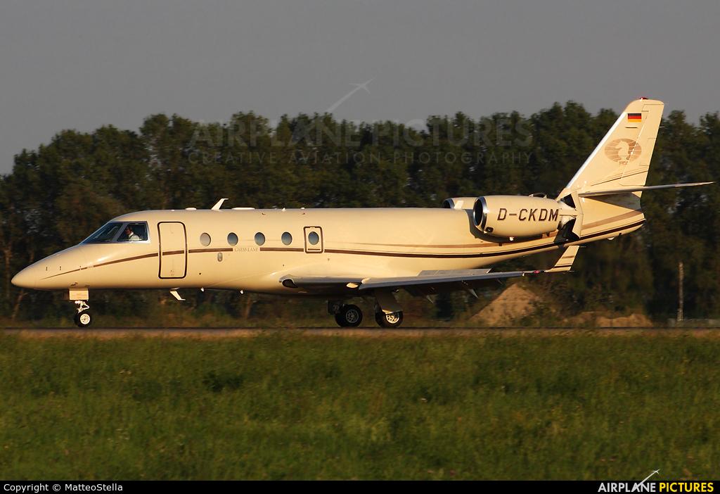 DC Aviation D-CKDM aircraft at Milan - Linate