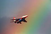 "10 - Russia - Air Force ""Strizhi"" Mikoyan-Gurevich MiG-29 aircraft"