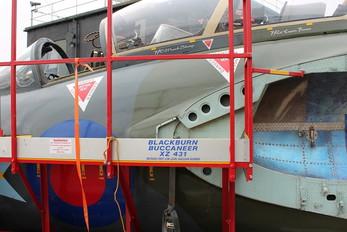 XZ431 - Royal Air Force Blackburn Buccaneer S.2B