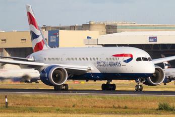 G-ZBJE - British Airways Boeing 787-8 Dreamliner