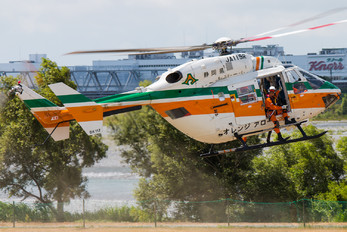 JA119R - Shizuoka Air Rescue Kawasaki BK117