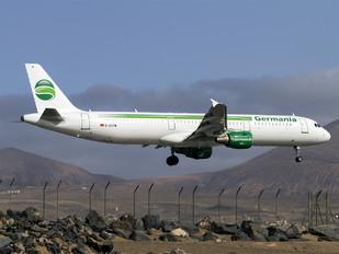 D-ASTW - Germania Airbus A321