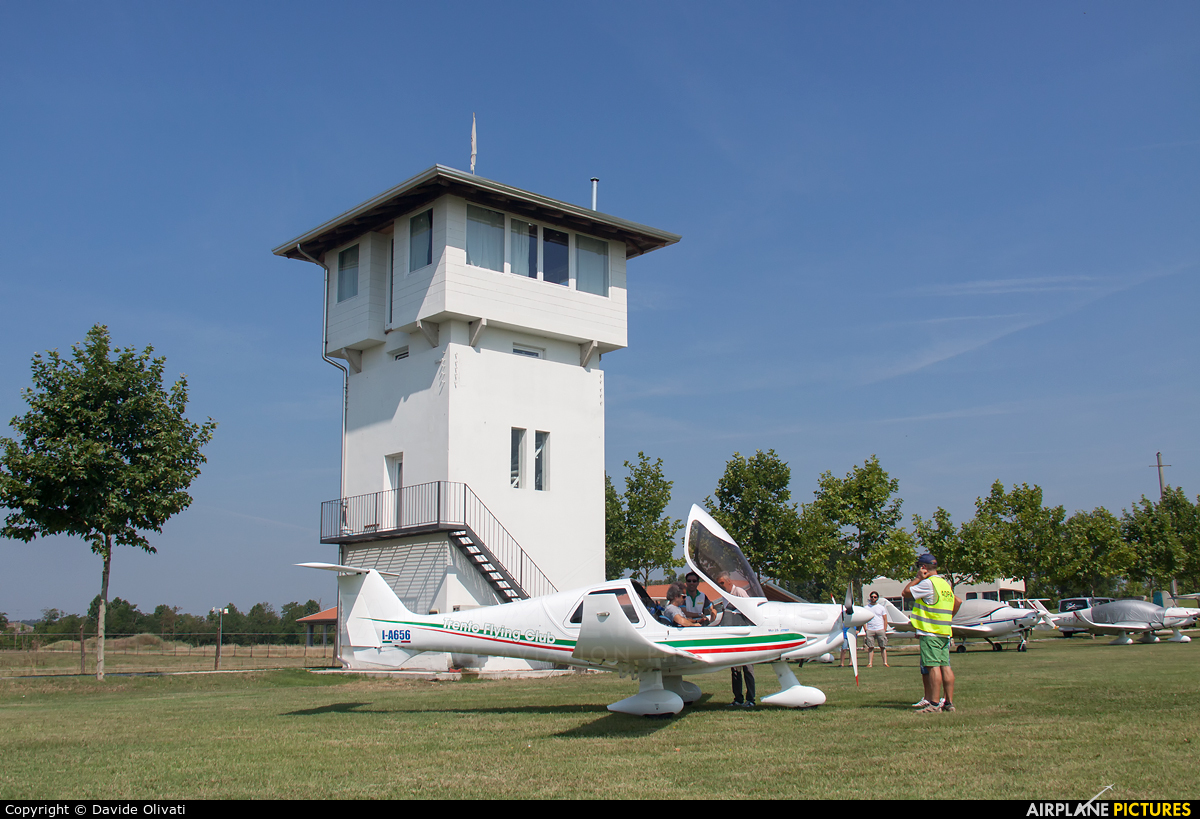 Private I-A656 aircraft at Off Airport - Italy