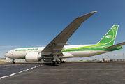 YI-AQZ - Iraqi Airways Boeing 777-200LR aircraft