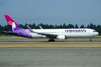 N590HA - Hawaiian Airlines Boeing 767-300ER