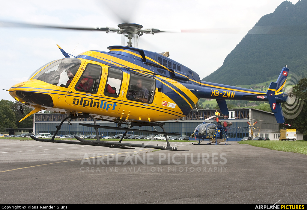Alpinlift HB-ZNW aircraft at Buochs