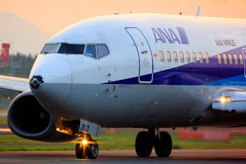 JA303K - ANA Wings Boeing 737-500