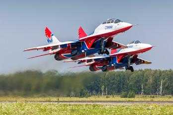 "07 - Russia - Air Force ""Strizhi"" Mikoyan-Gurevich MiG-29UB"
