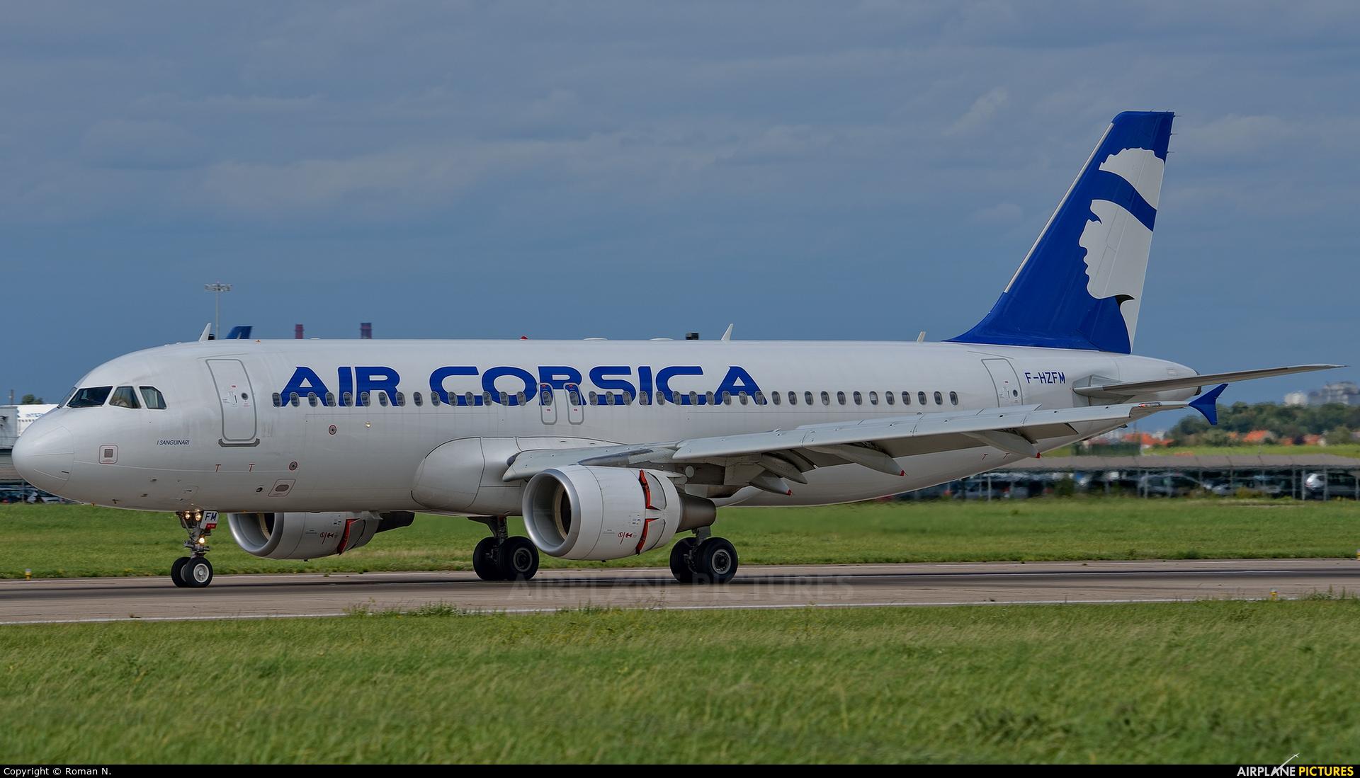 Air Corsica F-HZFM aircraft at Paris - Orly
