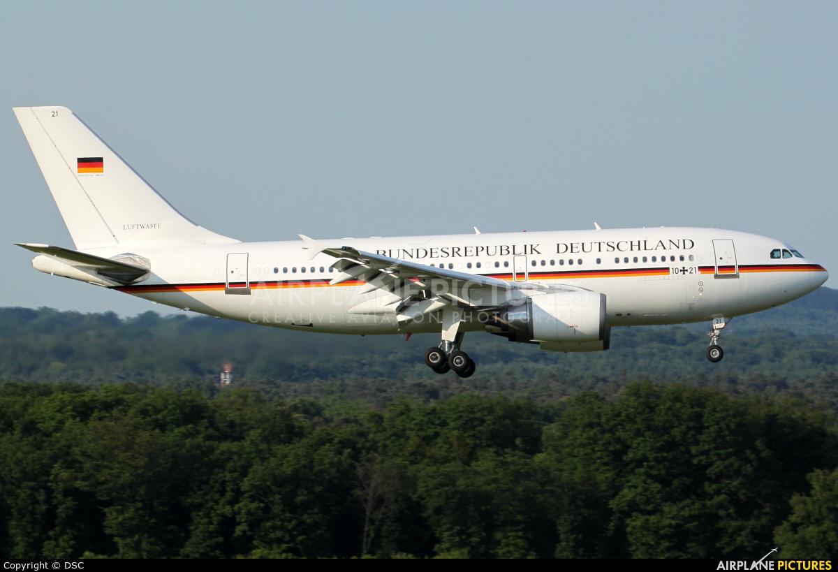 Germany - Air Force 10+21 aircraft at Cologne Bonn - Konrad Adenauer