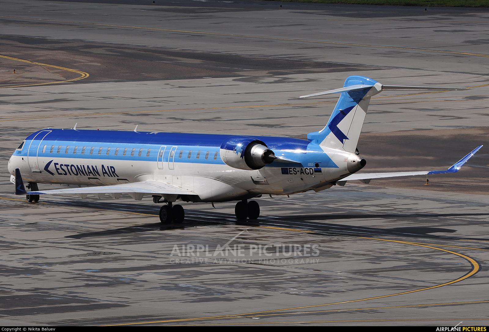 Estonian Air ES-ACD aircraft at Moscow - Sheremetyevo