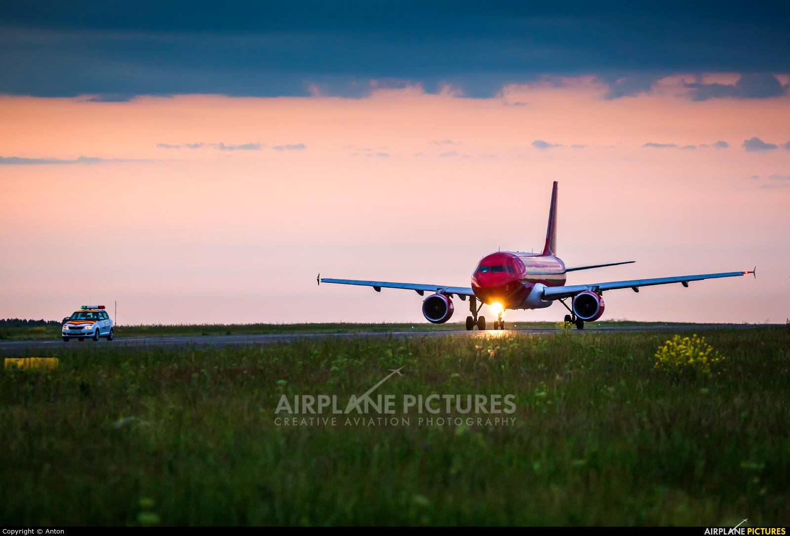 Rusline VP-BDY aircraft at Chelyabinsk