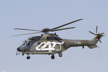 T-316 - Switzerland - Air Force Aerospatiale AS332 Super Puma