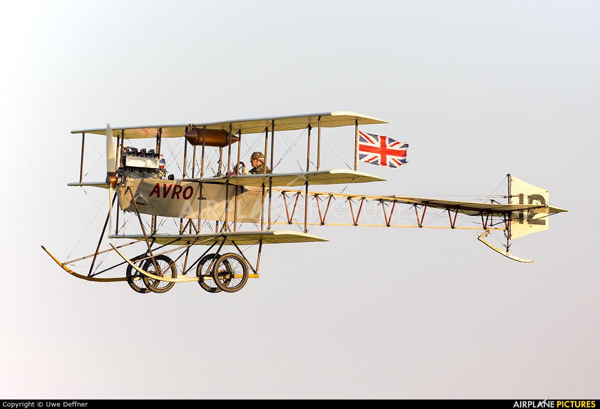 The Shuttleworth Collection G-ARSG aircraft at Old Warden