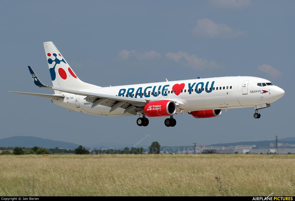Travel Service OK-TVX aircraft at Brno - Tuřany