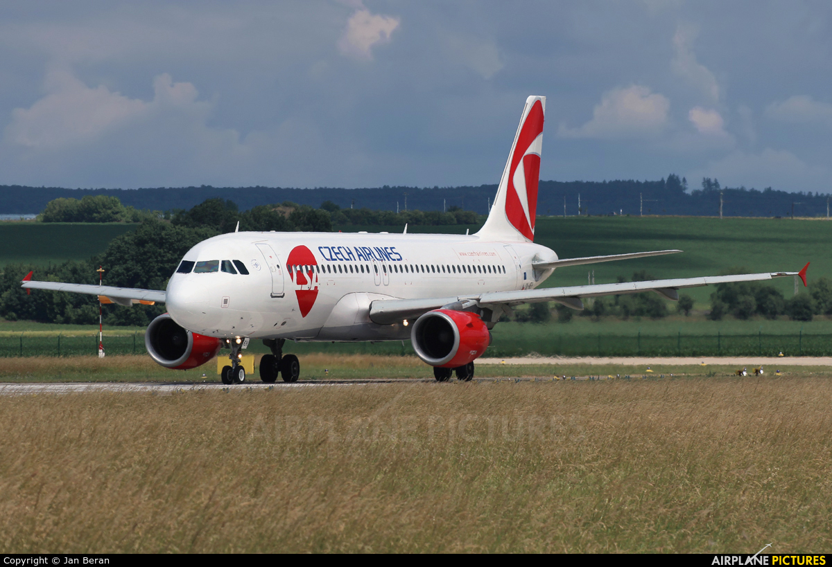 CSA - Czech Airlines OK-MEH aircraft at Brno - Tuřany