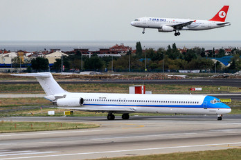 YR-ORT - Tend Air - Ten Airways McDonnell Douglas MD-82