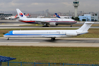 YR-OTN - Tend Air - Ten Airways McDonnell Douglas MD-82
