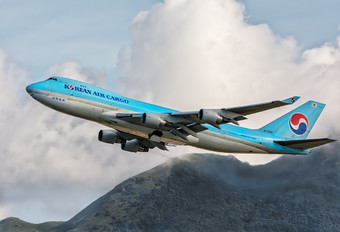 HL7449 - Korean Air Cargo Boeing 747-400F, ERF