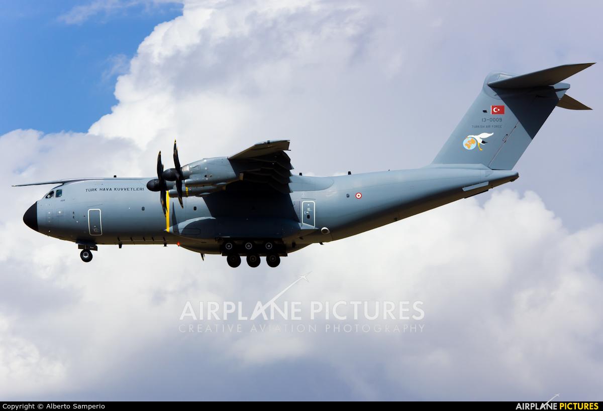 Turkey - Air Force 13-0009 aircraft at Madrid - Torrejon