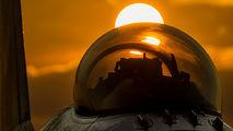 E-007 - Denmark - Air Force General Dynamics F-16A Fighting Falcon aircraft