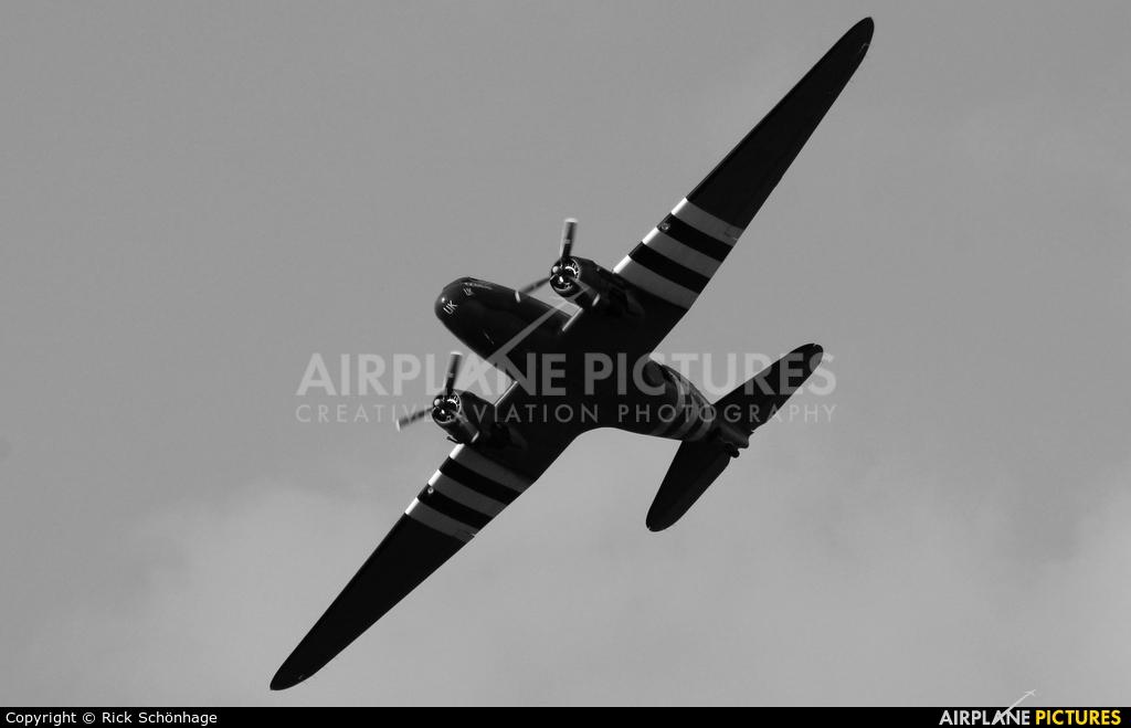 "Royal Air Force ""Battle of Britain Memorial Flight"" ZA947 aircraft at Kleine Brogel"