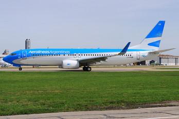 LV-FUB - Aerolineas Argentinas Boeing 737-800