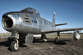C-122 - Argentina - Air Force North American F-86 Sabre