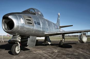 C-122 - Argentina - Air Force North American F-86 Sabre