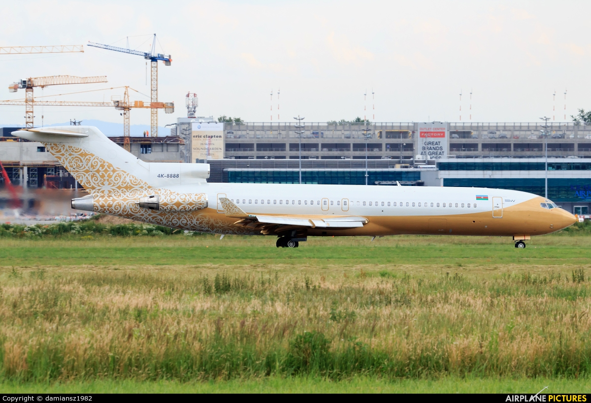ESW Business Aviation 4K-8888 aircraft at Kraków - John Paul II Intl