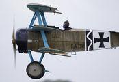 G-CDXR - Private Fokker DR1 Triplane aircraft
