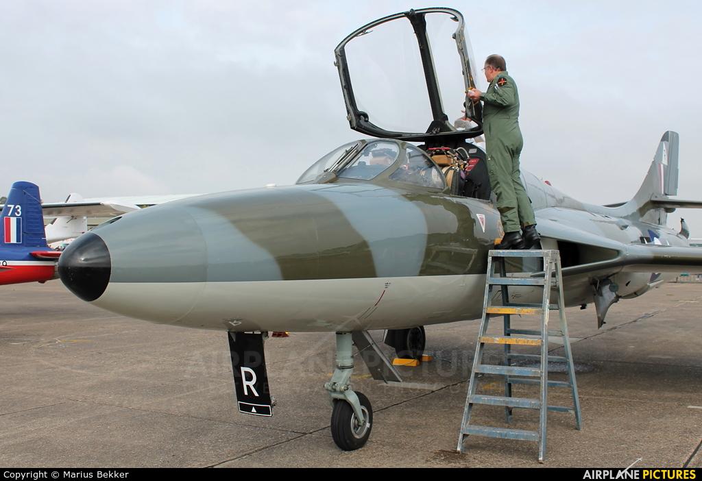 Private G-BXFI aircraft at Duxford