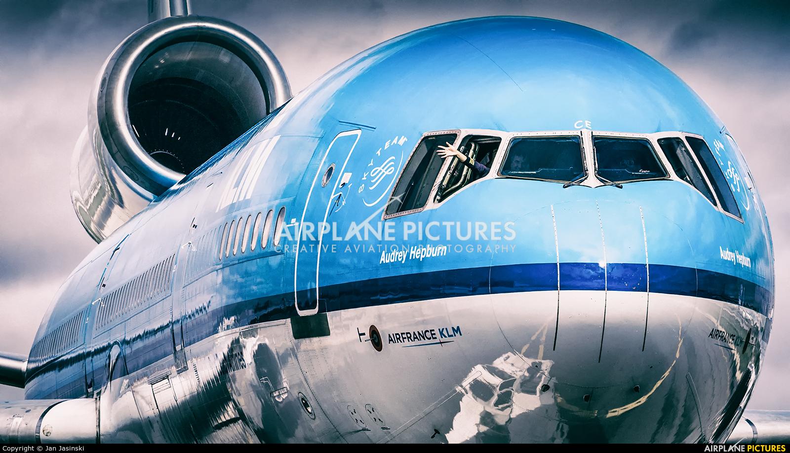 KLM PH-KCE aircraft at Toronto - Pearson Intl, ON