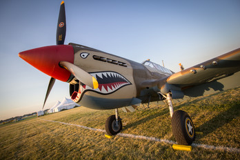 N4420K - Private Curtiss P-40E Warhawk