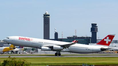 HB-JMH - Swiss Airbus A340-300