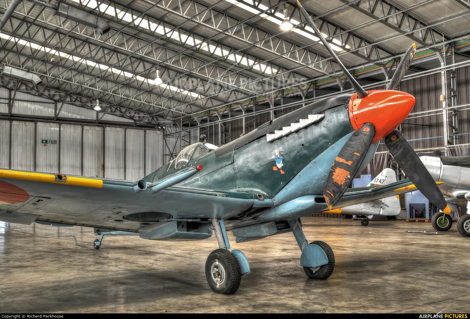 Historic Flying MJ271 aircraft at Duxford
