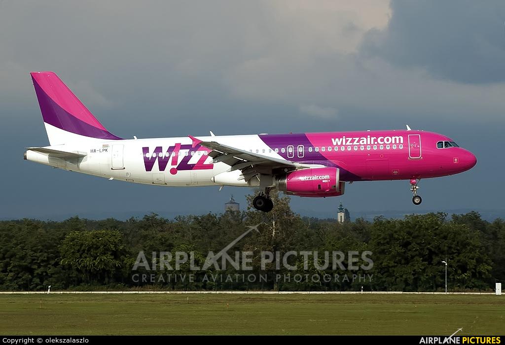 Wizz Air HA-LPK aircraft at Budapest Ferenc Liszt International Airport