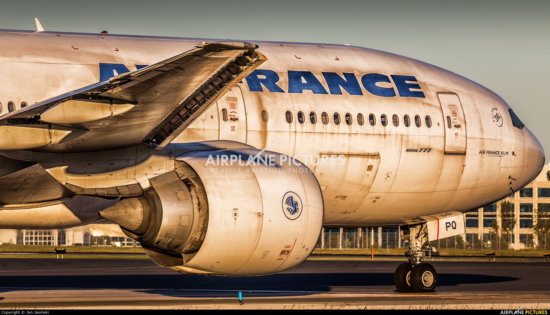 Air France F-GSPQ aircraft at Toronto - Pearson Intl, ON