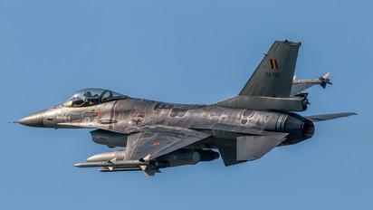 FA-132 - Belgium - Air Force General Dynamics F-16A Fighting Falcon