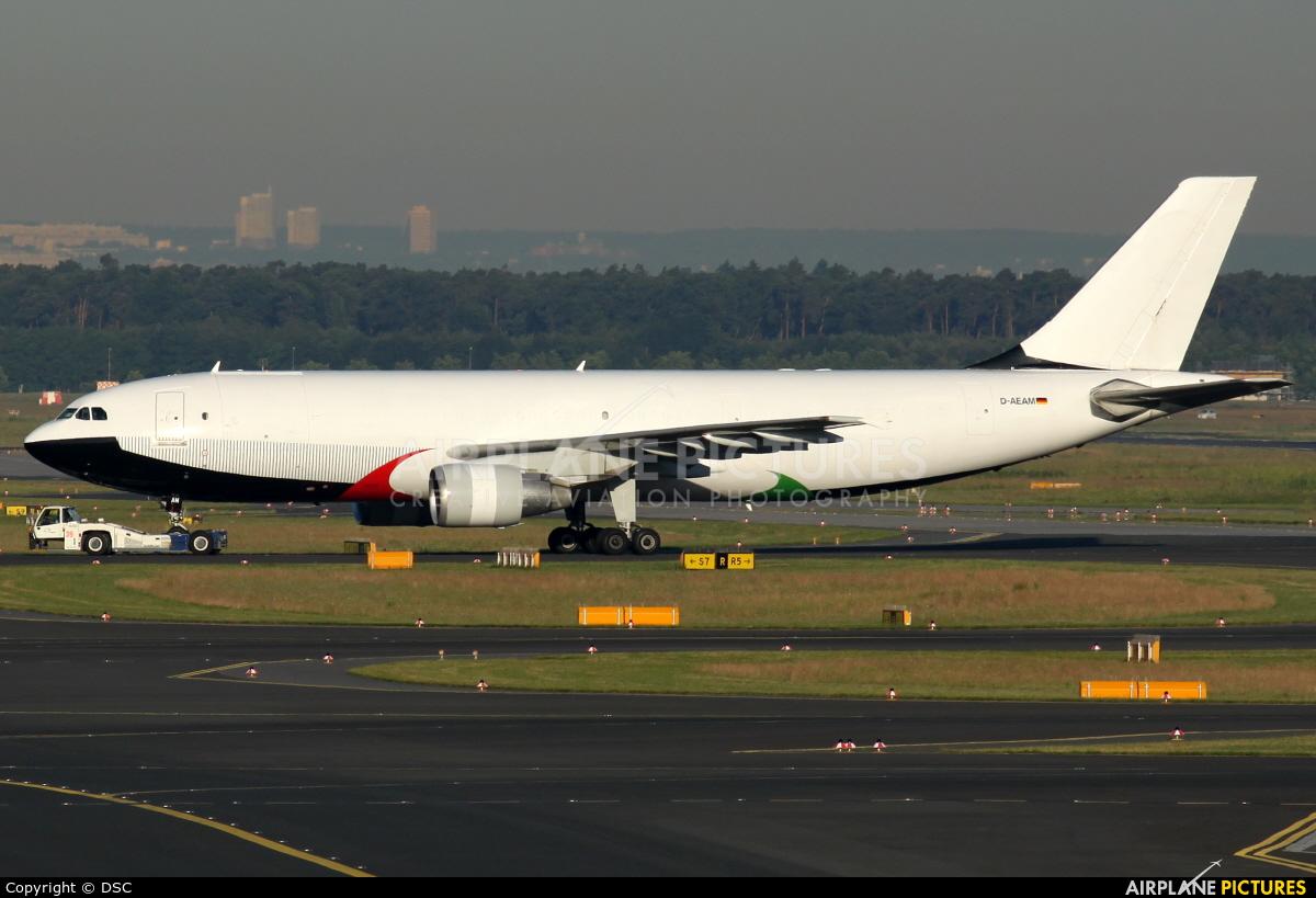 DHL Cargo D-AEAM aircraft at Frankfurt
