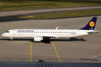 D-AEBS - Lufthansa Regional - CityLine Embraer ERJ-195 (190-200)