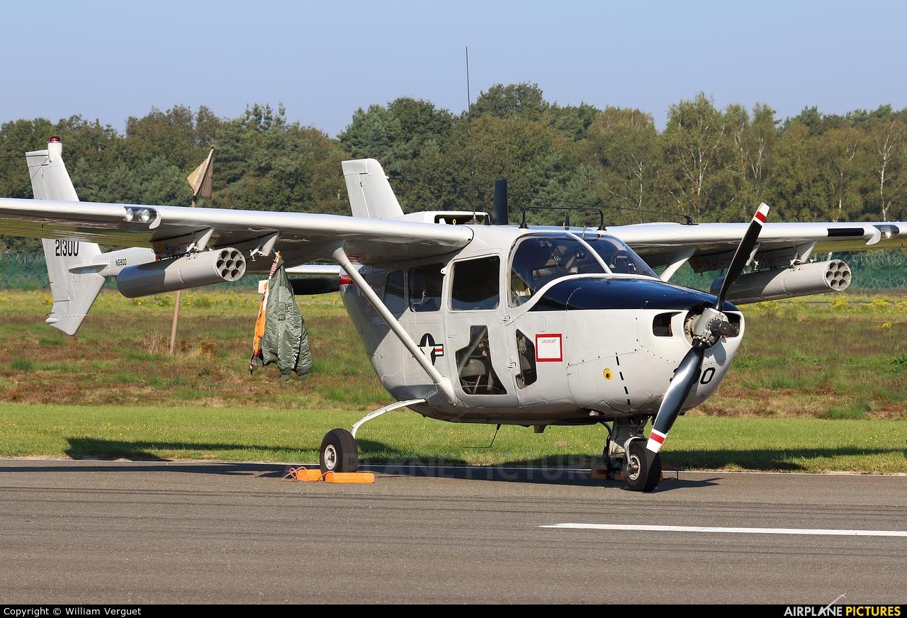 Private N590D aircraft at Kleine Brogel