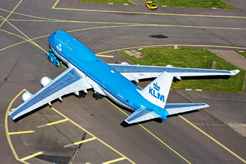 PH-BFG - KLM Boeing 747-400
