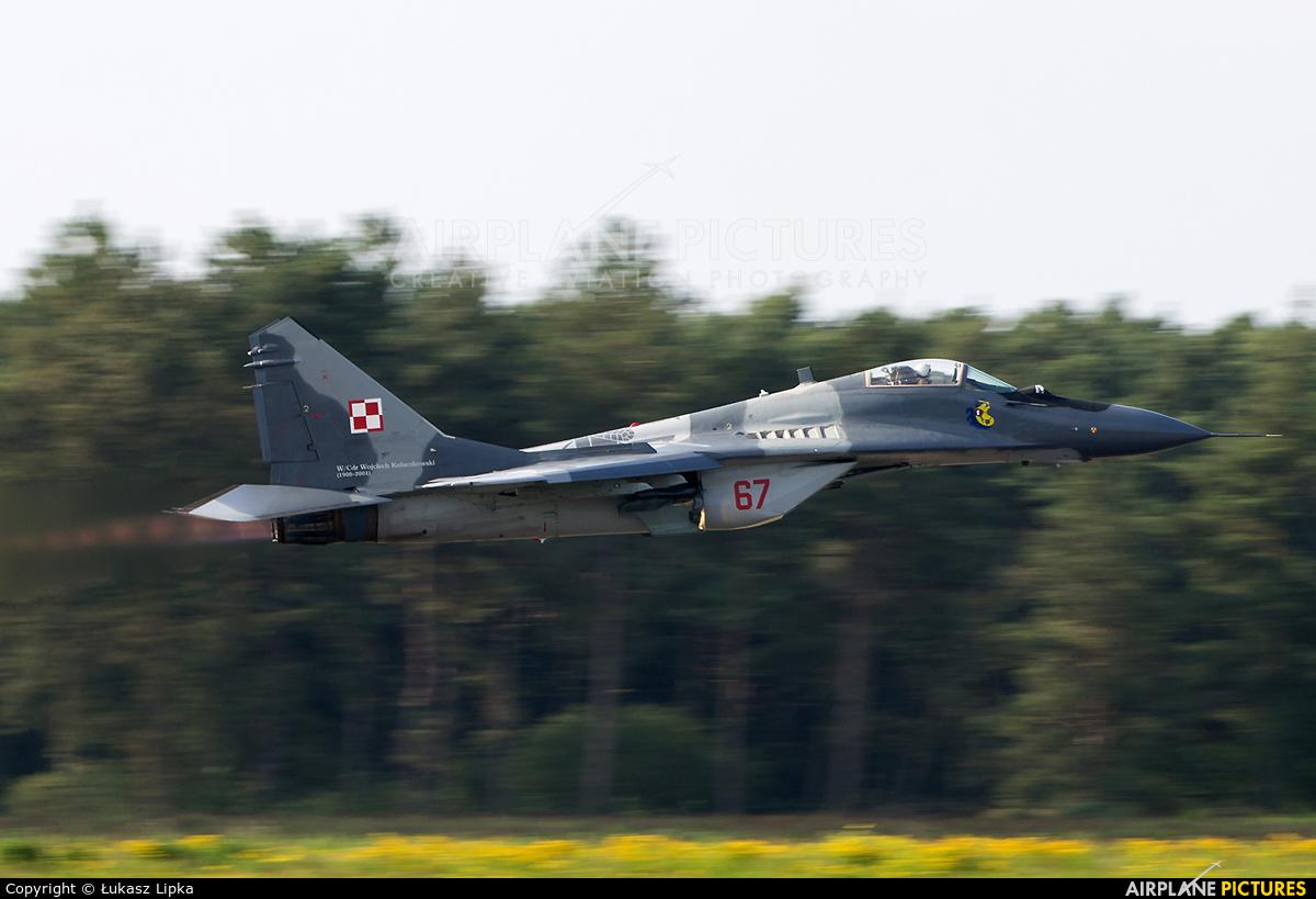 Poland - Air Force 67 aircraft at Kleine Brogel