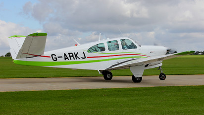G-ARKJ - Private Beechcraft 35 Bonanza V series