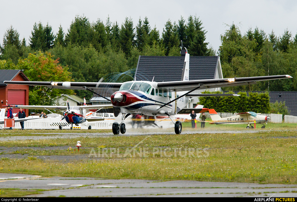 Benair LN-PBK aircraft at Hamar -Stafsberg