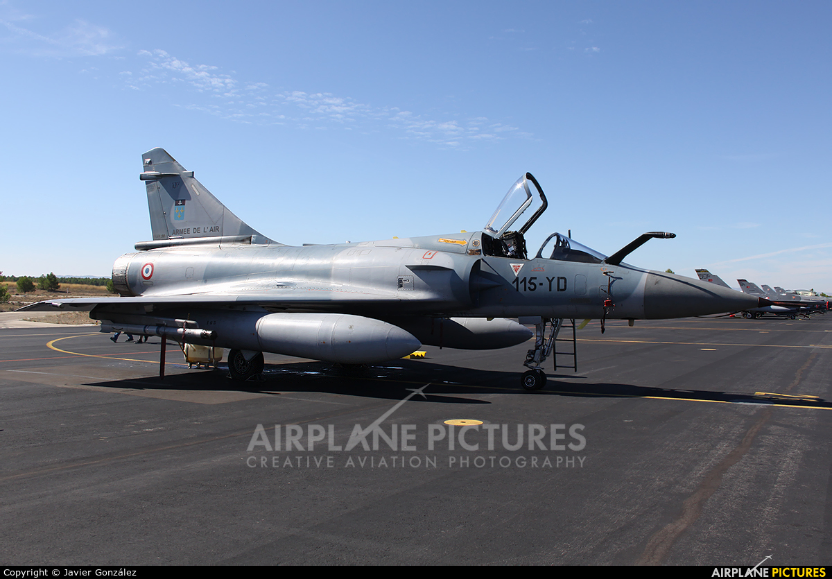 France - Air Force 107 aircraft at Albacete