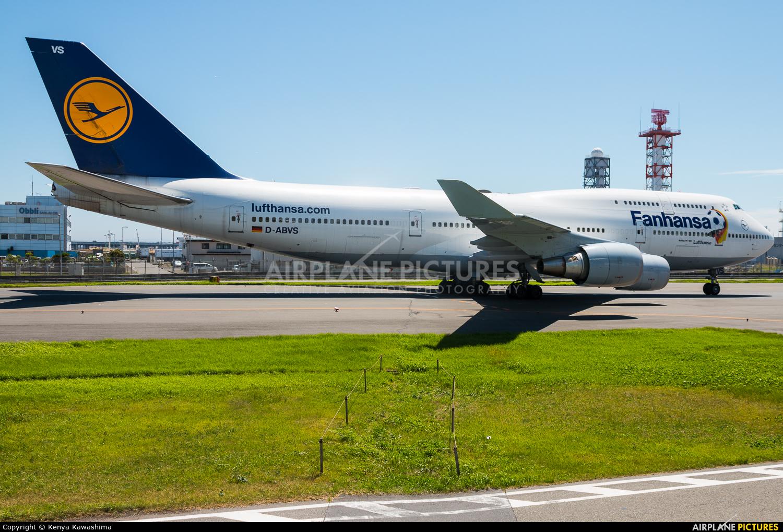 Lufthansa D-ABVS aircraft at Tokyo - Haneda Intl